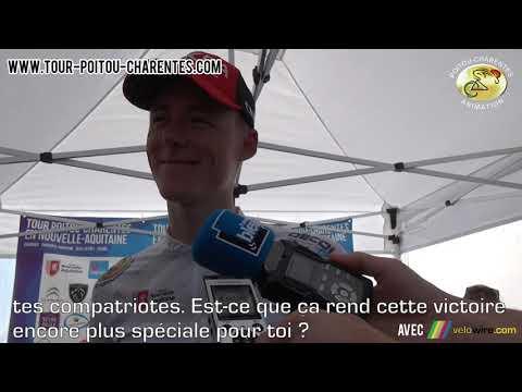 Interview Connor Swift (Arkéa-Samsic), vainqueur du Tour Poitou-Charentes 2021