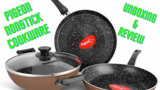 Pigeon Nonstick cookware unboxing and review