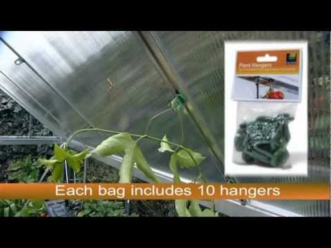 Palram Plant Hangers - Greenhouse Accessory