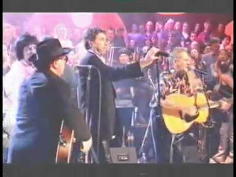 Leo Green performing Midnight Special with Van Morrison, Bryan Ferry, Jools Holland, Ronnie Wood