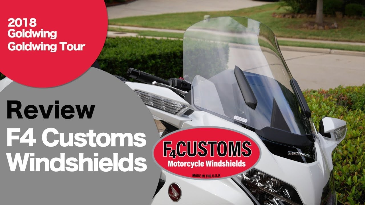 Windshield Upgrade for 2018 Goldwing Tour - TheGLForum