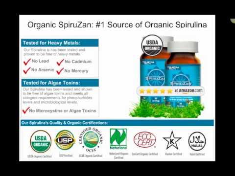 #1 Organic Spirulina