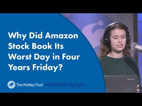 Why Did Amazon Stock Book its Worst Day in Four Years?