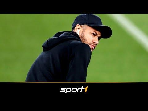 Barca schlägt Türe für Neymar-Rückkehr zu | SPORT1 - TRANSFERMARKT