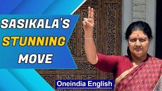 Sasikala makes surprise announcement | No more politics? | Oneindia News