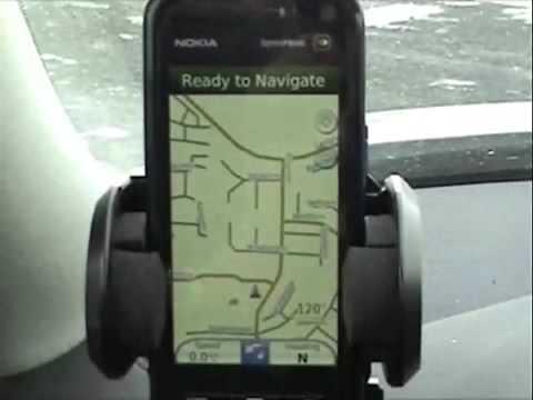 Nokia 5800 navigation video 01