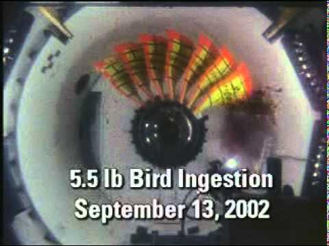Real Flight video Boeing Industries   Engine Test GE
