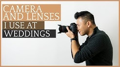 Recommended Wedding Photography Camera And Lens Gear