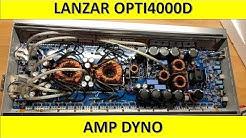 Lanzar Opti4000D Amp Dyno