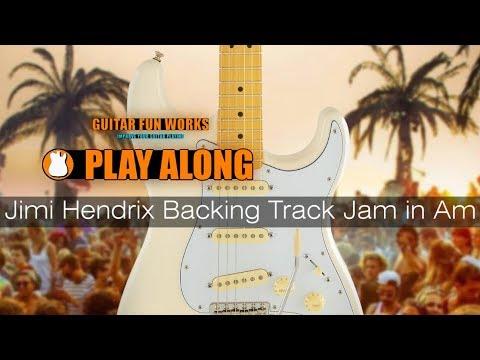Jimi Hendrix Backing Track Jam in Am