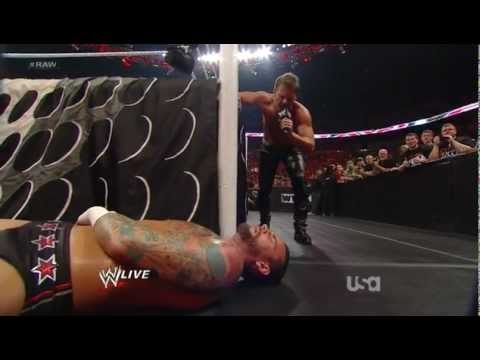 Chris Jericho Makes CM Punk Drink On The Night After Wrestlemania 28 Raw 2012 04 02 !!