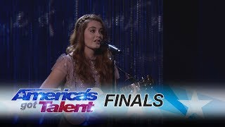 Mandy Harvey: Deaf Singer Amazes With Beautiful Tune - America\'s Got Talent 2017