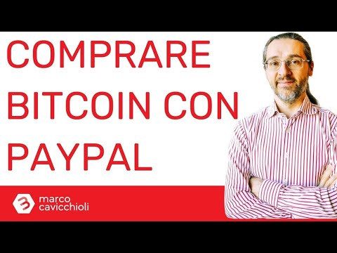 pagare bitcoin con paypal
