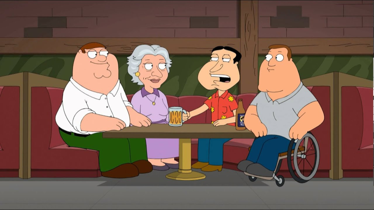 Family Guy 12x12 Mom S The Word Evelyn Peter Quagmire And Joe In The Clam