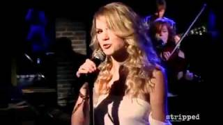 Taylor Swift - Change - Stripped Performance