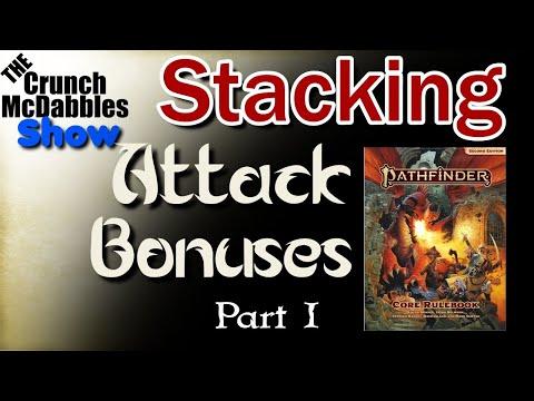 Pathfinder 2E: Status Bonuses to Attack |