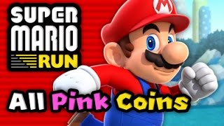 Super Mario Run: FULL GAME - All 24 Levels  (All Pink Coins)