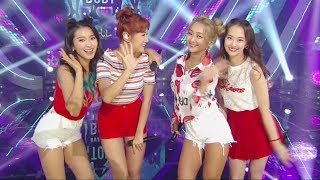 《Goodbye Stage》 SISTAR - SHAKE IT + I Swear + Touch My Body @인기가요 Inkigayo 20170604