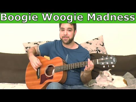 Lesson: Boogie Woogie Madness - Turn the Cliche Into Pure Groove [Guitar Tutorial]