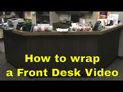 3M Di-noc - How to vinyl wrap a desk front - Rmwraps.com