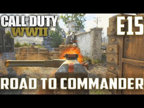 Call Of Duty World War 2(RTC)PS4 Ep.15-TDM On Sainte Marie Du Mont,Flak Tower(STG44 Haywire Gameplay