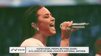 Super Bowl Props Betting Guide: Demi Lovato's National Anthem