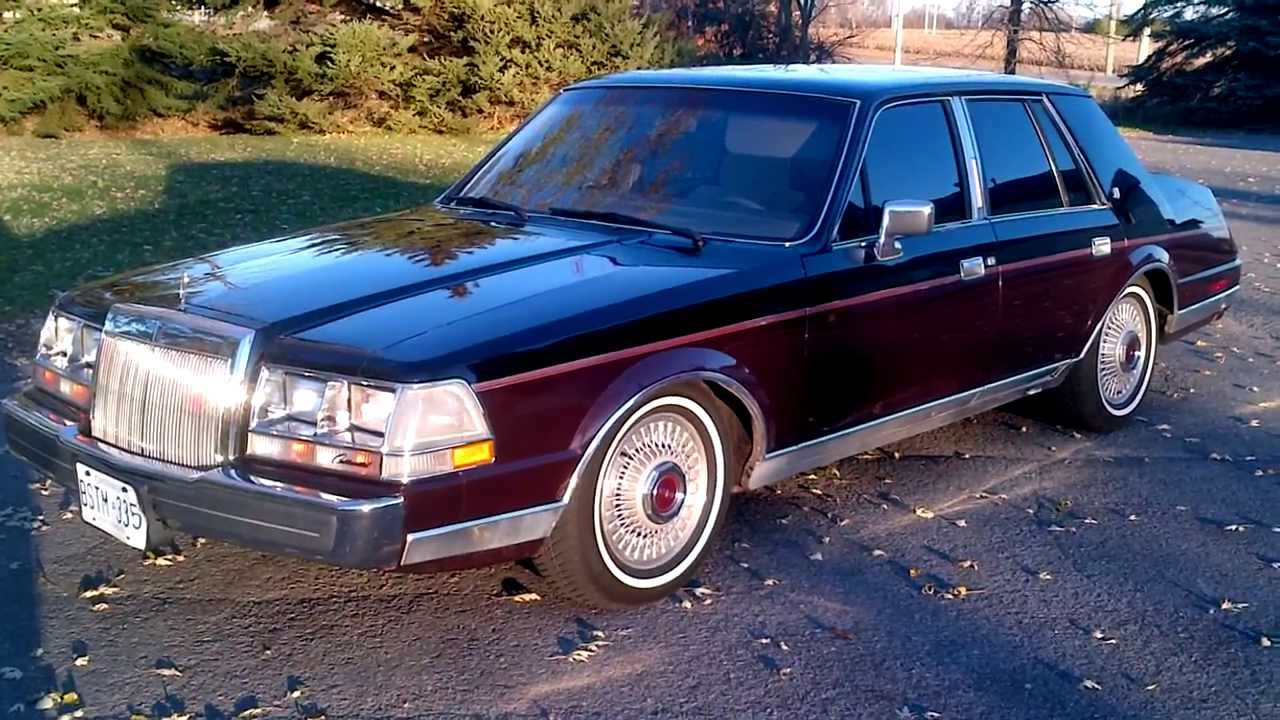 Mint Pimped Out 1986 Lincoln Continental Gevinchy Edition