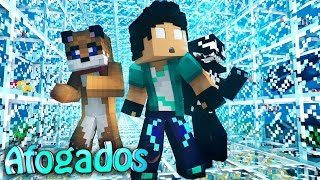 Minecraft AFOGADOS : TÚNEL AQUATICO !!! #06 thumbnail