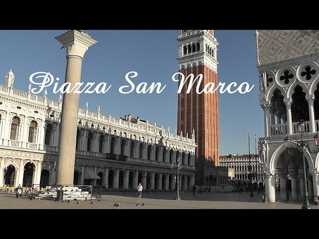 VENICE: St Mark's Square / Piazza San Marco [HD]