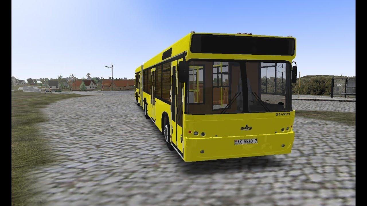 Симулятор автобуса маз скачать