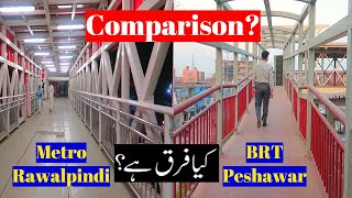 BRT Peshawar Latest Updates Comparison with Metro Rawalpindi