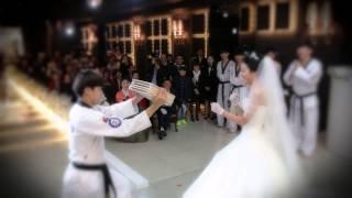 신부(bride) 의 송판 5장 격파?