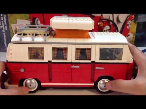 Lego 10220 Volkswagen T1 Camper Van - 1960's VW Bus