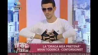 Repeat youtube video Mihai Toderica contortion act -