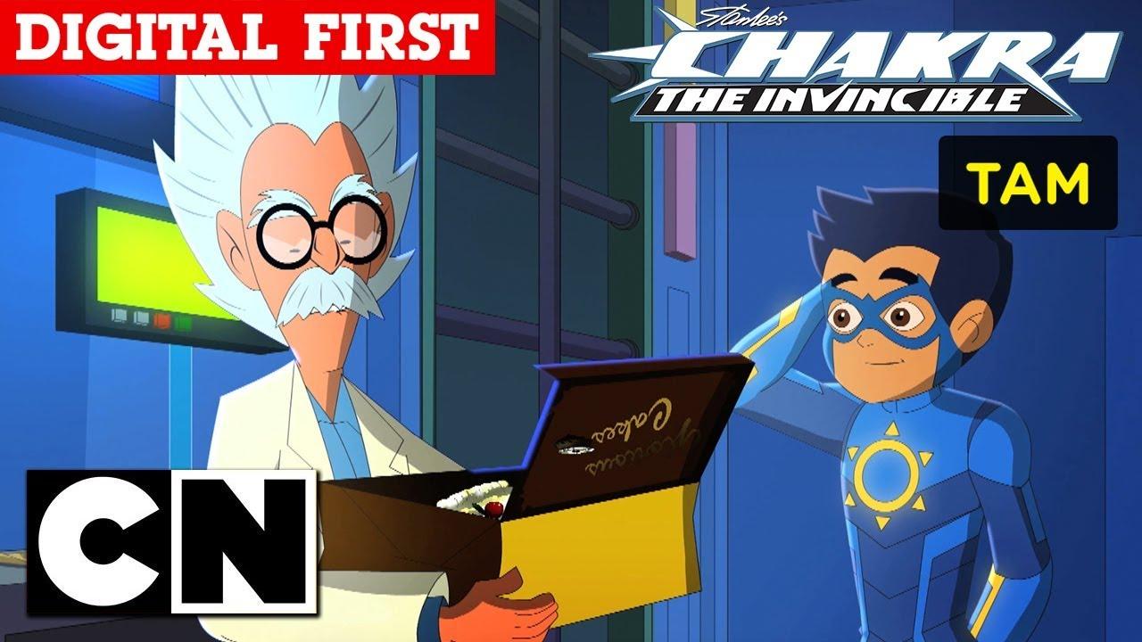 Stan Lee S Chakra The Invincible Birthday Cake Tamil Cartoon Network