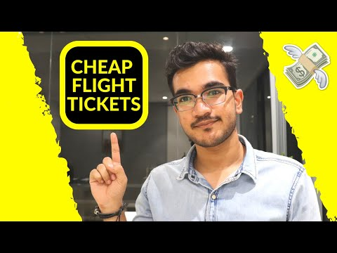 Book Cheapest Flight Tickets In India | BEST METHOD