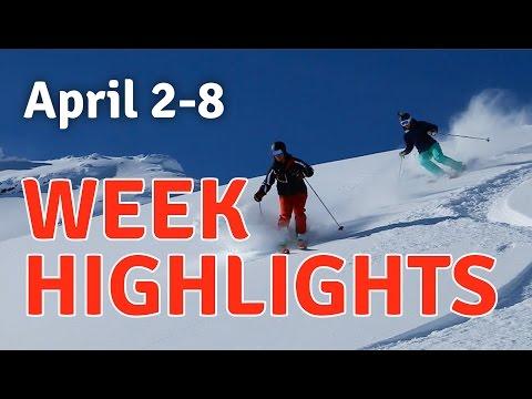 April 2-8 Tour 618 Heli-skiing Highlights