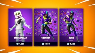 FOOTBALL SKINS ARE BACK - Fortnite Daily Reset & Recommendations