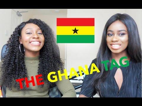 ETHNICITY TAG | GHANA GIRLS 🇬🇭