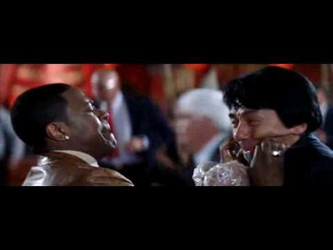 Rush Hour 2 Lee & Carter argue about a bomb