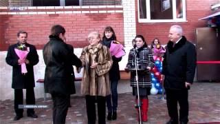 Сдача жилого дома для сотрудников ДГТУ в Азове(ДГТУ_ТВ, Спецрепортаж