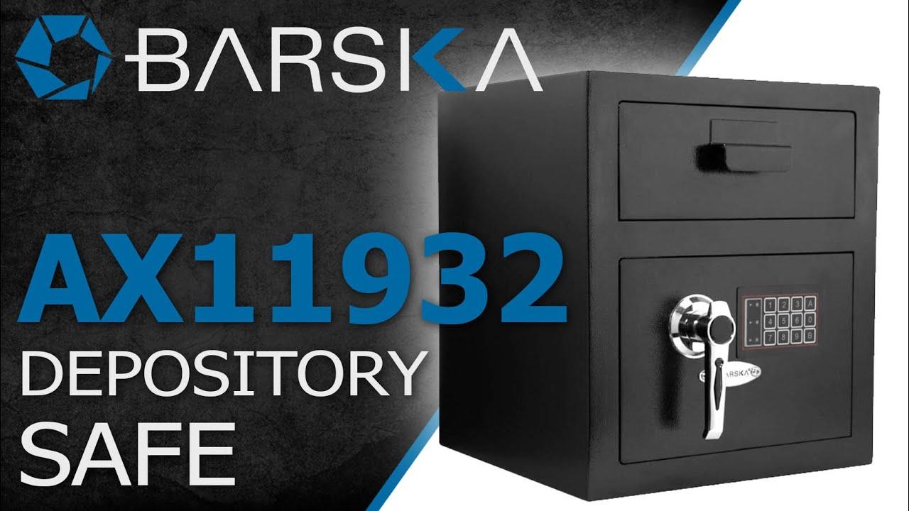 Secure Deposit Safe with Digital Keypad by Barska (AX11930 ...