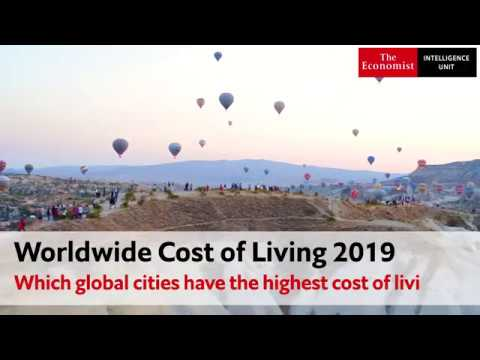 Worldwide Cost Of Living 2019: Which Global Cities Have The Highest Cost Of Living?