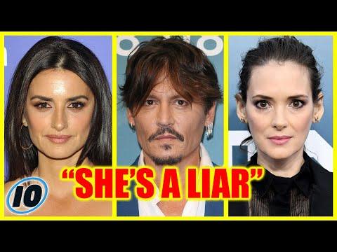 Penelope Cruz And Wynona Ryder Defend Johnny Depp