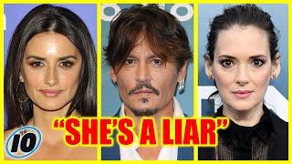 Gambar cover Penelope Cruz And Wynona Ryder Defend Johnny Depp