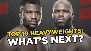 UFC's Top 10 Ranked Heavyweights: Next Fights And 2020 Predictions