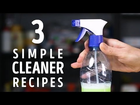 3 Simple Cleaner Recipes To Try At Home L 5 Minute Crafts Youtube