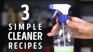 3 simple cleaner recipes to try at home l 5-MINUTE CRAFTS