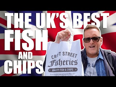 Best Fish And Chips In UK? Croft Street Fisheries Farsley