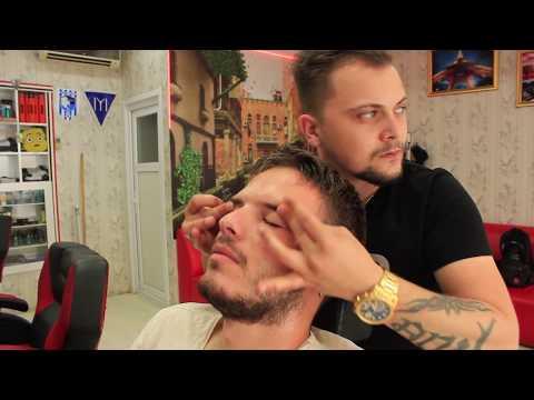 ASMR Turkish Barber Face,Head And Body Massage 129 ♂️